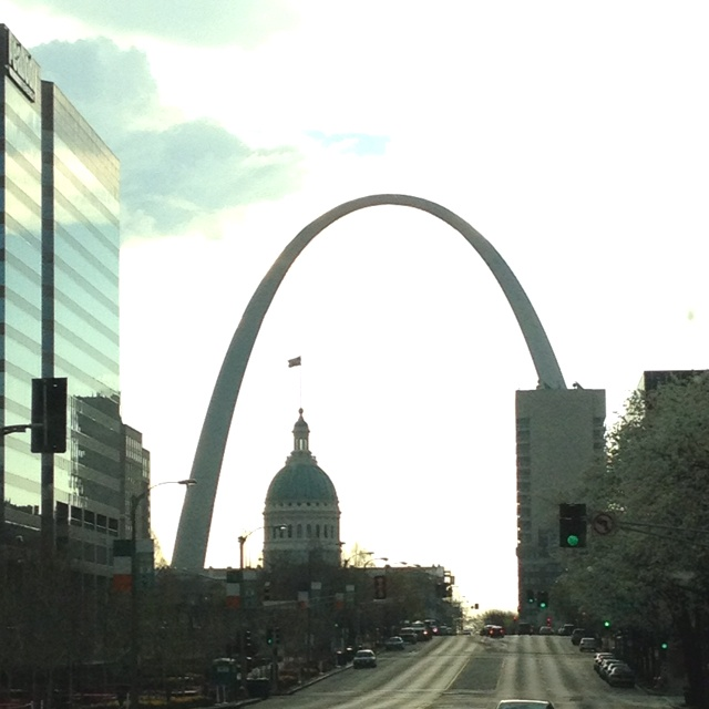 Place to visit: St. Luis Arch in Missouri. The view is crazy!.