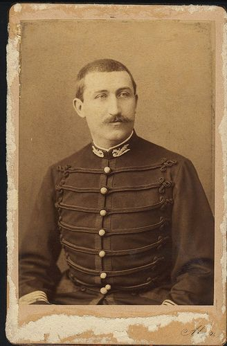 french soldier - Alfred Dreyfus ?