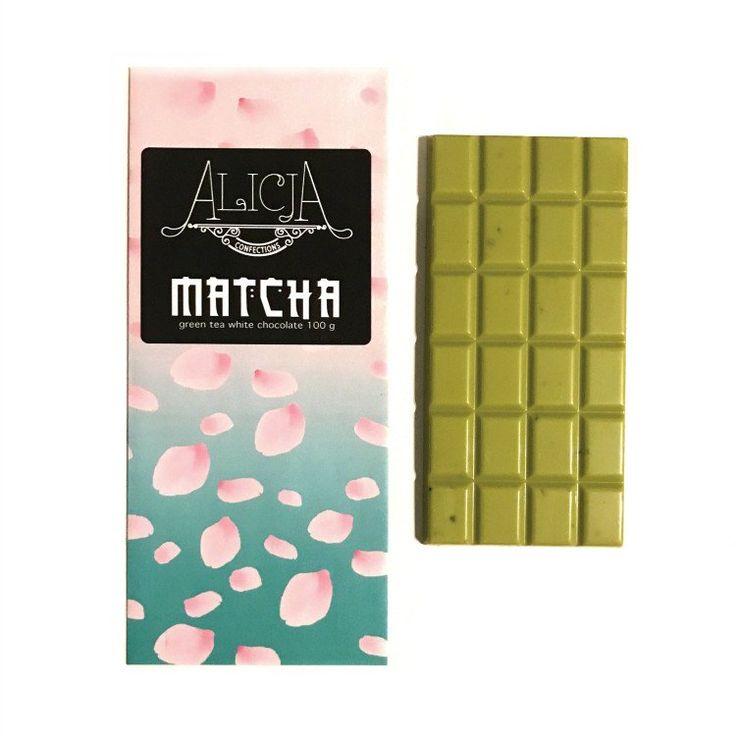 matcha • white chocolate green tea