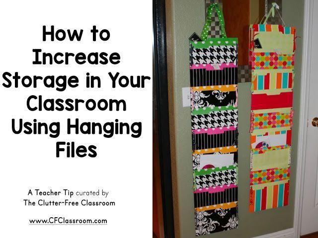 Classroom Decor Ideas For Teachers ~ Best ideas about hanging files on pinterest diy file