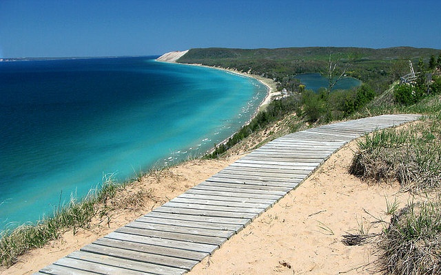 Empire Bluff, near Sleeping Bear Dunes, Michigan