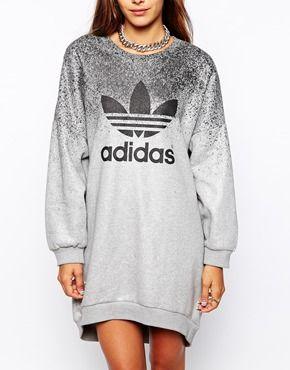 Agrandir Adidas Originals X Rita Ora - Robe molletonnée
