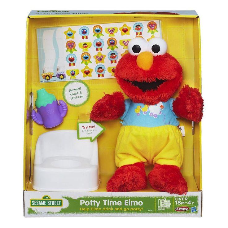 Sesame Street Elmo Potty Time