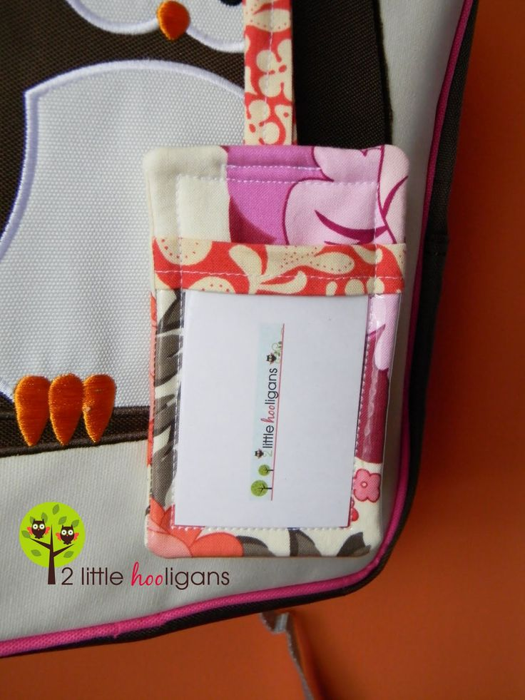 Fabric Luggage Tag Tutorial (allow 30 minutes from start to finish)Materials Needed:*fabric scraps*batting or stabilizer*heavy plastic bags (the ones that sheet sets come in) **Before you get start…