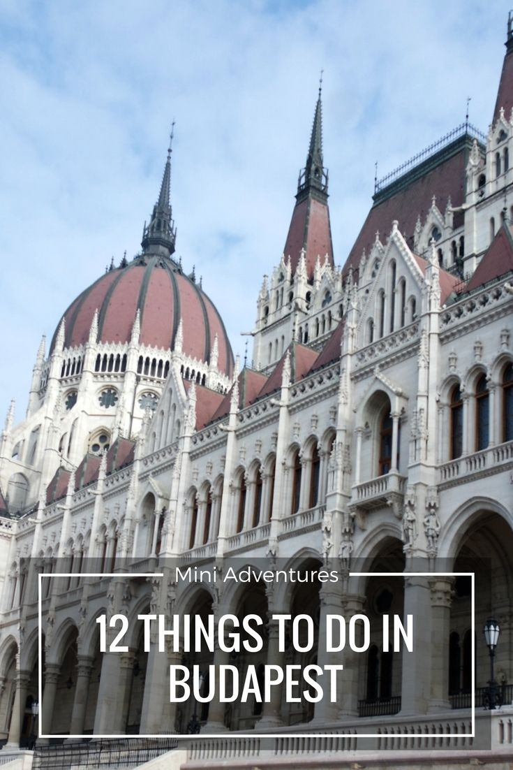 Planning a visit to Hamburg's capital? Check out 12 things to do in Budapest, including the Houses of Parliament, a really awesome bar and fun in a locked room...