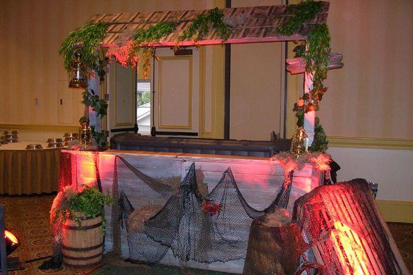 Swamp Theme Booth