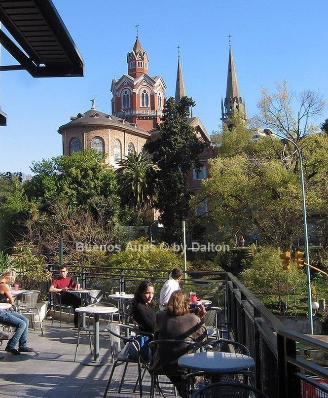 Barrio Las Cañitas-  Barrio de Palermo -Abadia de San Benito - Bs.As.