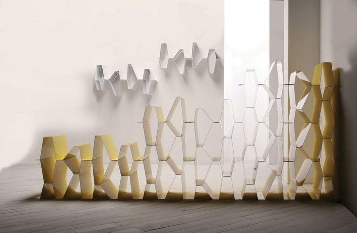 PLUS modular bookshelf | david dolcini STUDIO | #bookshelf #metaldesign #daviddolcini #itfdesign #daviddolcinistudio