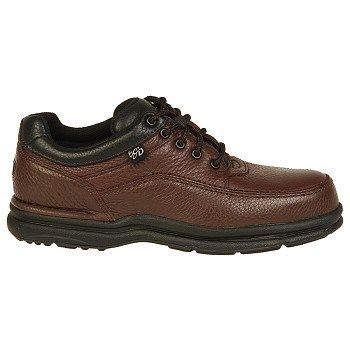 Rockport Works Men's World Tour Steel Toe Work Shoes (Brown) - 10.5 W