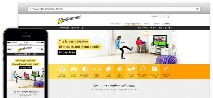 Video Amusement redesign by www.fineststudios.eu