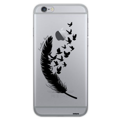 Coque Crystal Plumes pour Apple iPhone 6