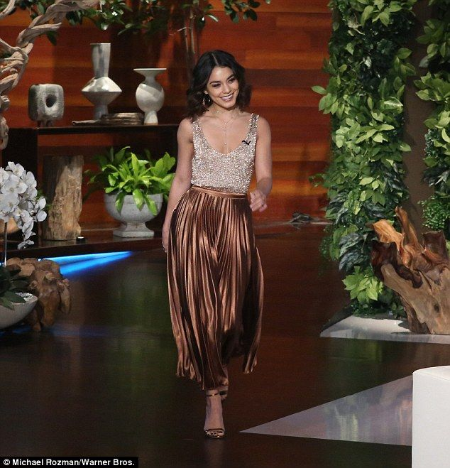 It's a hit!Vanessa also spoke about starring on Grease: Live this last year, a production...