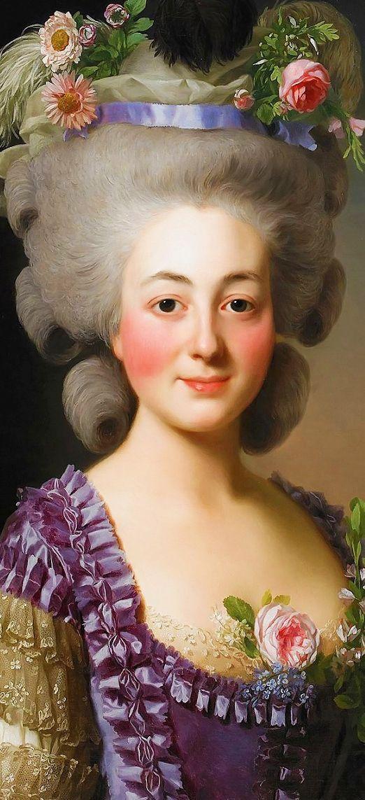 ALEXANDER ROSLIN. The Marquise de Becdelièvre. 1780.