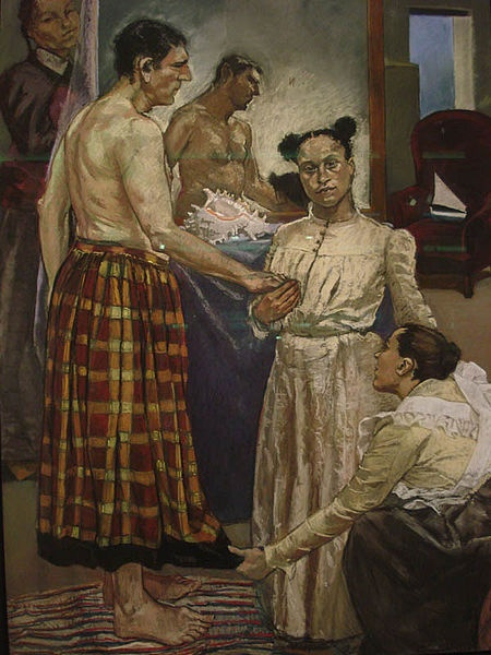 Paula Rego, The Fitting