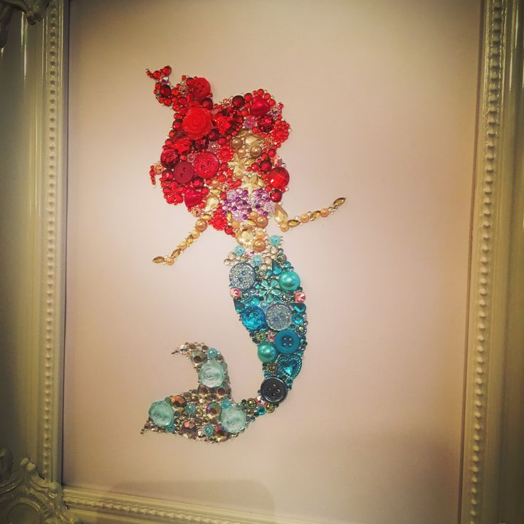 Handmade The Little Mermaid Disney Ariel Frame