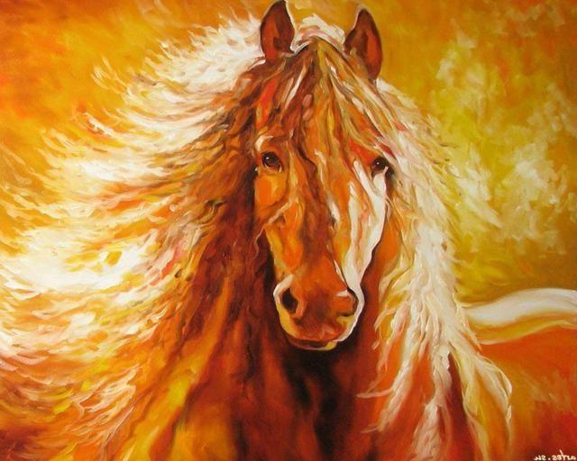 Живые открытки лошади