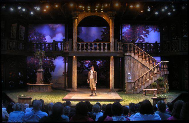 Loves Labours Lost at Utah Shakespeare Festival. | Robert Mark Morgan, set designer.