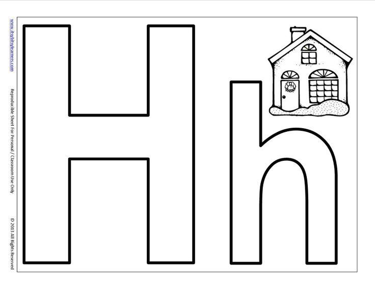 32 best letter h images on pinterest preschool alphabet alphabet letters and preschool. Black Bedroom Furniture Sets. Home Design Ideas