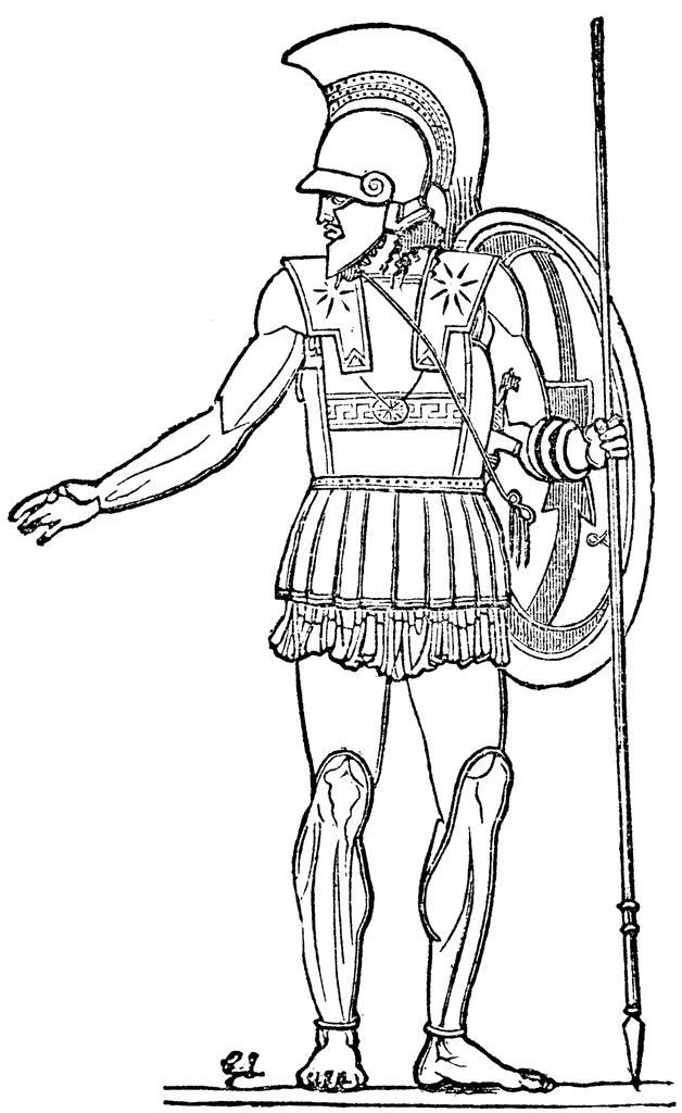 ancient greek art sculpture coloring pages | ancient rome colouring pages | Ancient Roman Soldiers ...