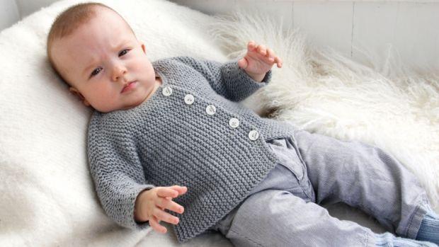 Strik til børn: Strik en blød trøje til de mindste | Femina