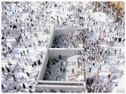 where is zamzam well in these picture?