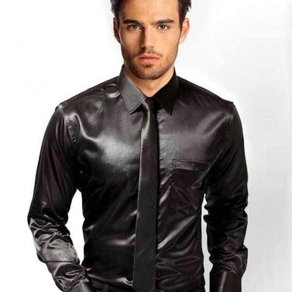 10 best Satin shirts images on Pinterest | Dress shirts, Satin ...