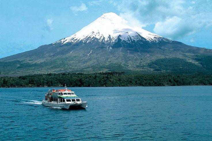 Lago Todos los Santos, Sur de Chile