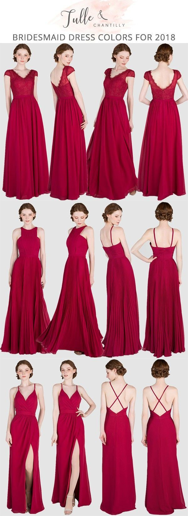 13++ Red bridesmaid dresses long ideas information