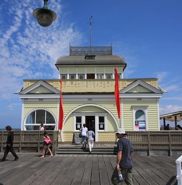 St . Kilda Pier Kiosk   #Australia