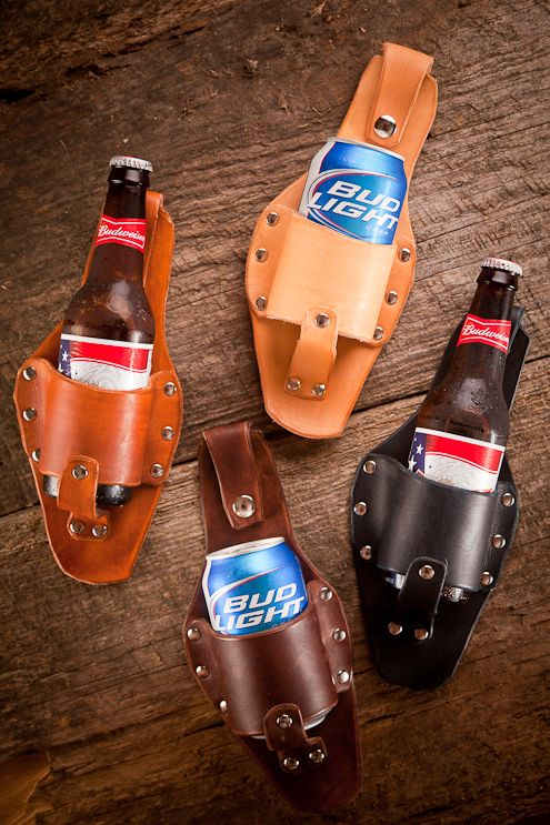 The Plano Beer Holster from Holestar (no drink left behind!!!) Love this... can use it for soda too!