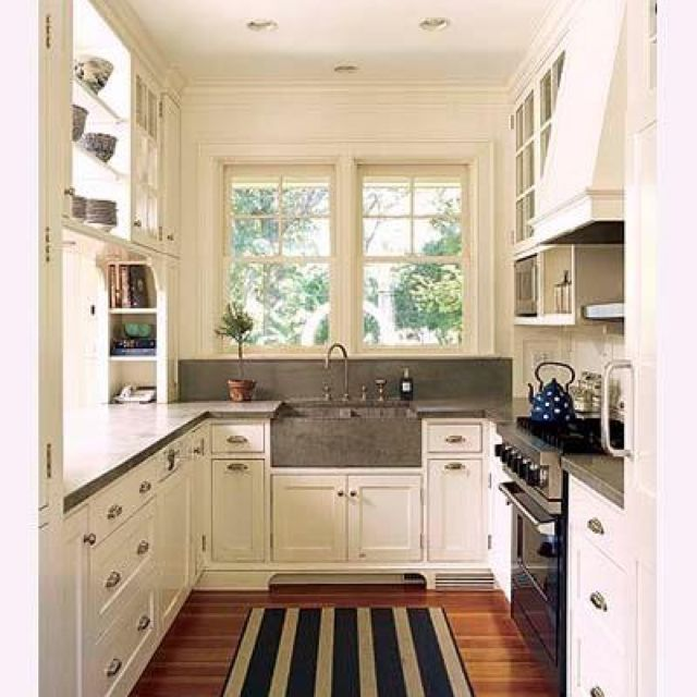 Beautiful, Small Kitchens And Cabinets On Pinterest
