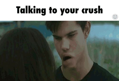 Funny Memes About Life Struggles: Struggles Of Talking To Crush, Tumblr Memes