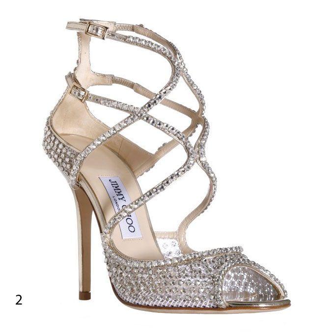 Sandaaltjes met swarovski kristallen. Leuk in combi met kristallen sieraden