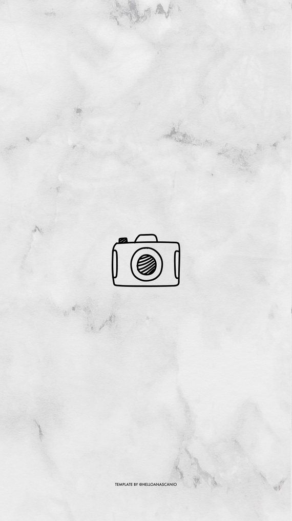 Instagram Story Highlights Icons Marble Doodle Picto