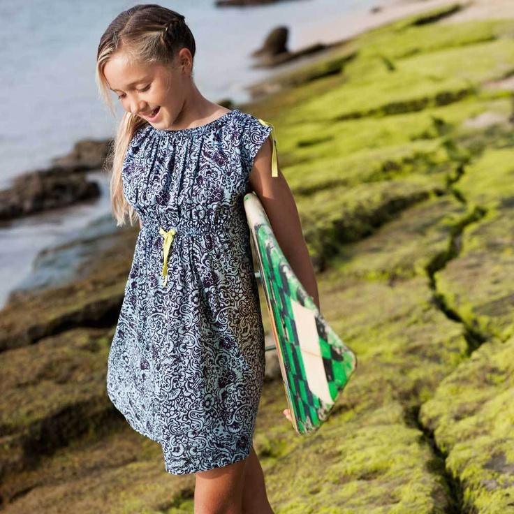 Laut Batik Dress at teacollection.com, perfect for summer!