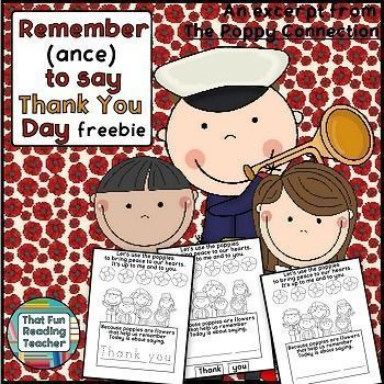 #FREE #RemembranceDay activity is a sample from The Poppy Connection Songbook with printable activities. #DifferentiateByPrinting