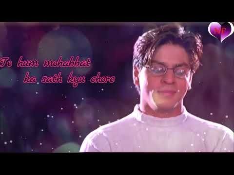 Mohabbatein best Dialogue Whatsapp Status video \created by