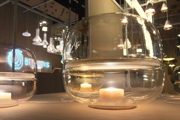 Closing day at Feria Hábitat Valencia! 19—22 September 2017  Hall N2-P2, Stand C20  Av. de las Ferias s/n, Valencia, Spain #habitat17 #feriahabitatvalencia #brokis MACARON by Lucie Koldova - Brokis -lights - interior - design.