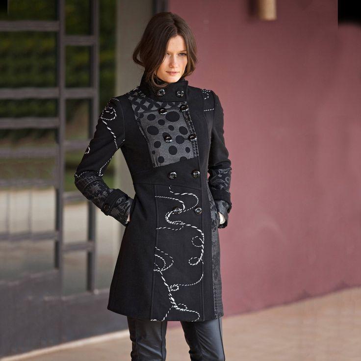 manteau desigual femme recherche google mimi pinterest djellaba et manteau. Black Bedroom Furniture Sets. Home Design Ideas