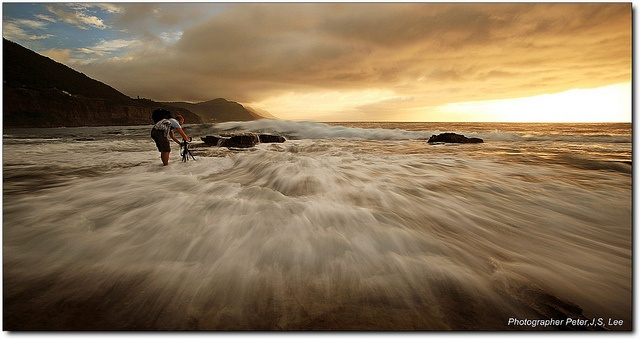 In the morning at Coalcliff, NSW, South Coast, Sydney, Australia.