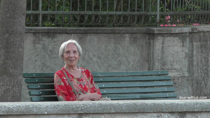 """At Borghetto sul Mincio, a sweet """"old girl"""", as she likes to call herself, whom happens to be Mari, Stefano's mother.  Tour With Us. Come and visit Borghetto sul Mincio! http://tour-withus.com/tours/Northern-Italy/index.html"""