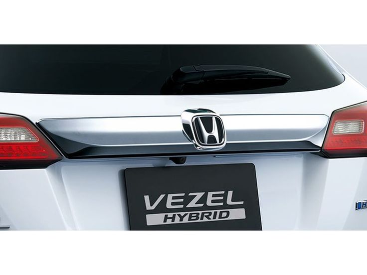 [NEW] JDM Honda VEZEL RU Rear License Garnish Genuine OEM HR-V - HONDA - Car Parts