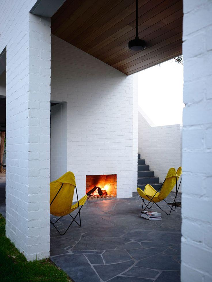 Park Lane home, Melbourne Australia. 6 homes that embrace #brick