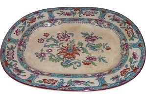 Coalport Platter, C. 1820