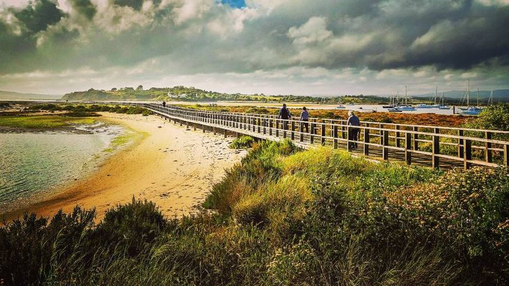 Alvor Algarve - Portugal.  #Portugal #landscape #nature #sky #tree #outdoors #travel #traveling #visiting #instatravel #instago #panoramic #water #cloud #river #tourism #sea #wood #seashore #daylight #summer #grass #agriculture