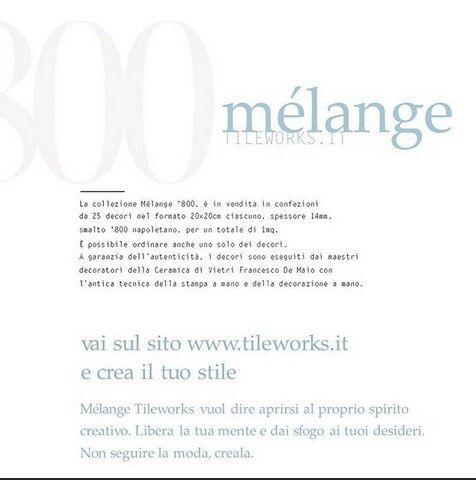 stile e ceramica | Cevi | ceramica vietrese #melange800