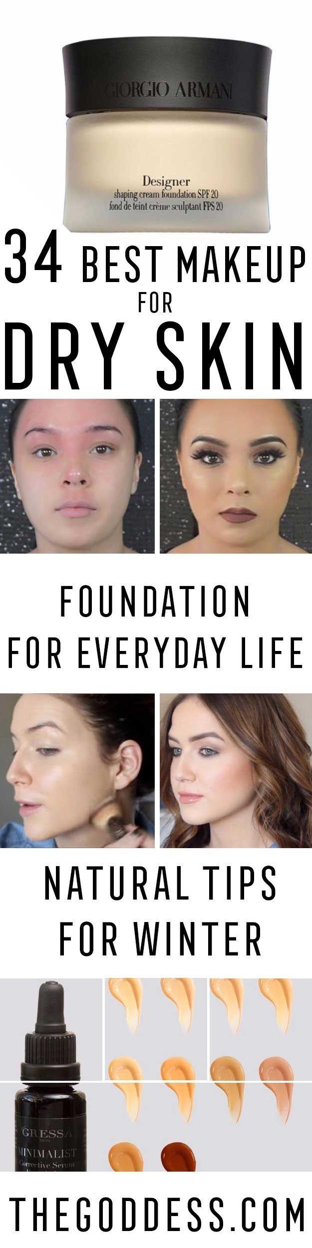 Bestes Make-up für trockene Haut – Einige der b…