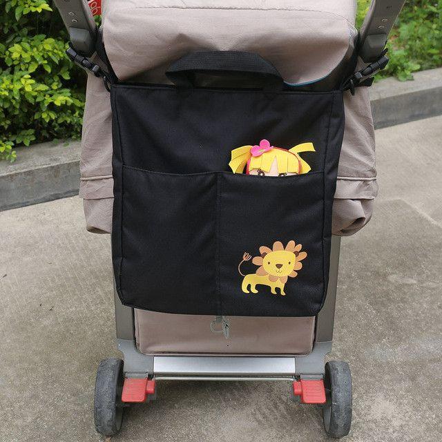 Diaper Bag Tote Shoulder Multifunction baby bag Baby Stroller Bag Organizer Baby Car Hanging Basket Storage Stroller Accessories