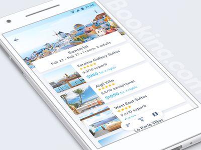 Booking hotel list