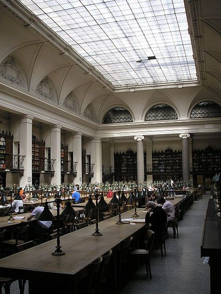 Vienna University Library, main reading room